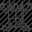 british, emblem, england, logo, shield, uk, united kingdom icon