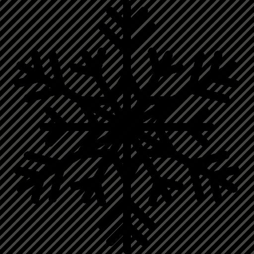 cold, freezer, freezing, frozen, snow, snowflake, weather icon