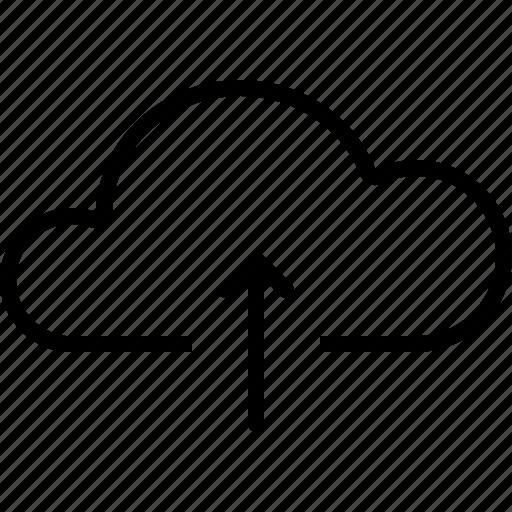 Arrow, cloud, file, storage, up, upload icon - Download on Iconfinder