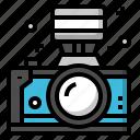 camera, flash, lens, photograph, photographer icon