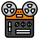 audio, recorder, sound, tape, voice icon