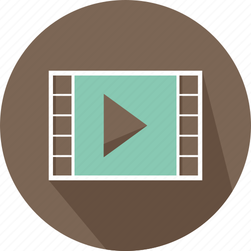 interface, movie, multimedia, option, play, player, video icon
