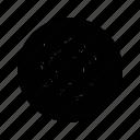 blood, danger, eye icon