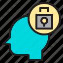 idea, internet, protection, web icon