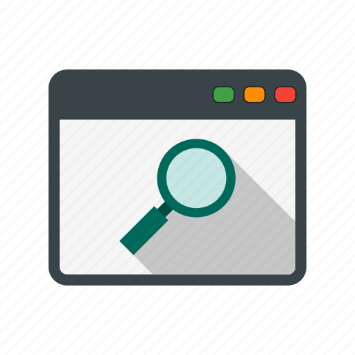 browser, search, web icon