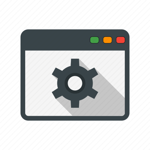 browser, setting, web icon