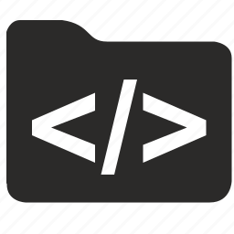 app, code, files, folder, program icon