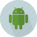 android, app, humanoid, imitate, logo, robot, software icon