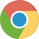 chrome, download, freeware, google, internet, open-source, web browser icon