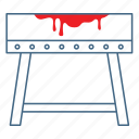 brutal, medieval, punish, spanish donkey, torment, torture, torture equipment icon