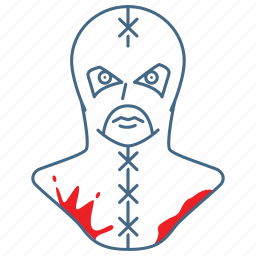 brutal, executioner, hangman, killer, punisher, torment, torturer icon