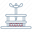 brutal, cruel, punish, squeezer, thumbscrew, torment, torture equipment icon