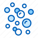air, boiling, bubbles, fizzy, water icon