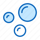 air, bubbles, oxygen, water icon