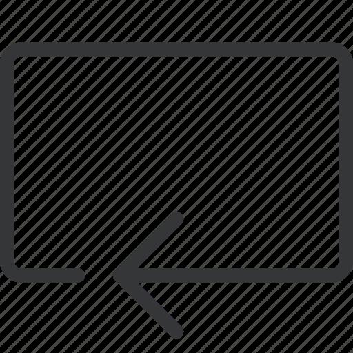 arrow, backline icon