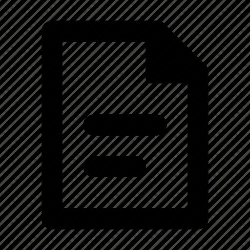 doc, document, file, text, write icon