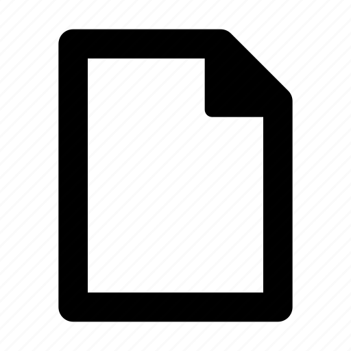 blank, doc, document, file, text icon