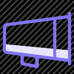 announcement, broadcast, bullhorn, communication, conversation, teamspeak icon