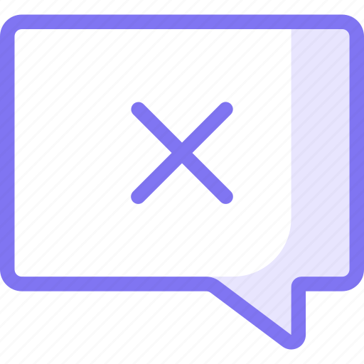 chat, communication, conversation, cross, teamspeak icon