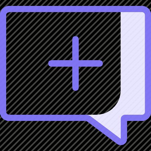 Chat, communication, conversation, plus, teamspeak icon - Download on Iconfinder