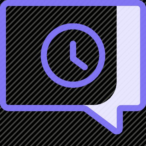 chat, communication, conversation, queue, scheduled, support, teamspeak icon
