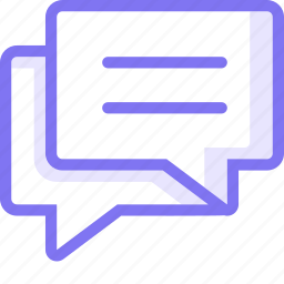 chat, communication, conversation, teamspeak, thread icon