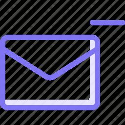 communication, conversation, email, minus, remove, teamspeak icon