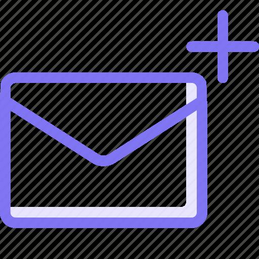communication, conversation, email, plus, teamspeak icon