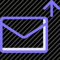 communication, conversation, email, teamspeak, upload icon