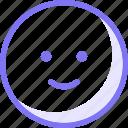 communication, conversation, emoji, expression, happy, sticker, teamspeak icon