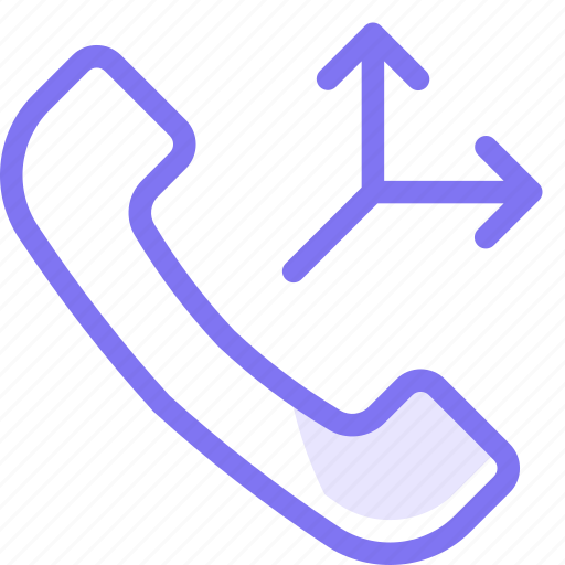 call, communication, conversation, directed, phone, teamspeak icon