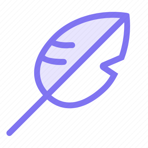 communication, conversation, feather, pen, quill, teamspeak icon