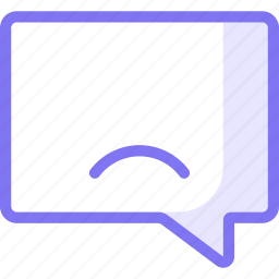 chat, communication, conversation, sad, teamspeak icon