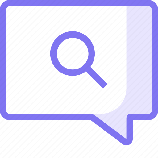 chat, communication, conversation, search, teamspeak icon