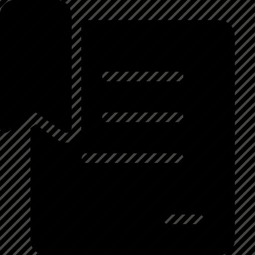 doc, document, marker icon