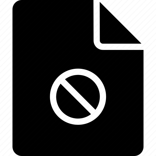 block, document, file icon