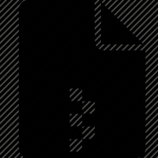 file, zip, zipped icon