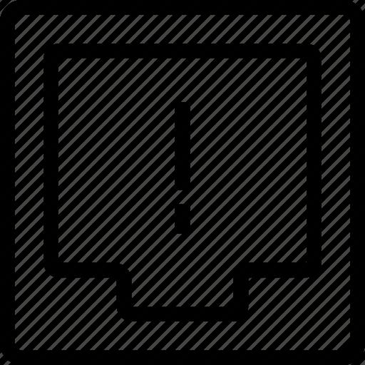 alert, box, document, file, ui icon