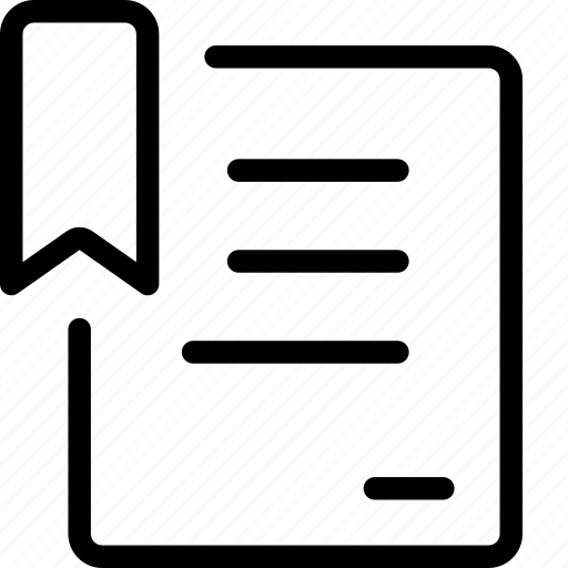 Doc, document, marker, ui icon - Download on Iconfinder
