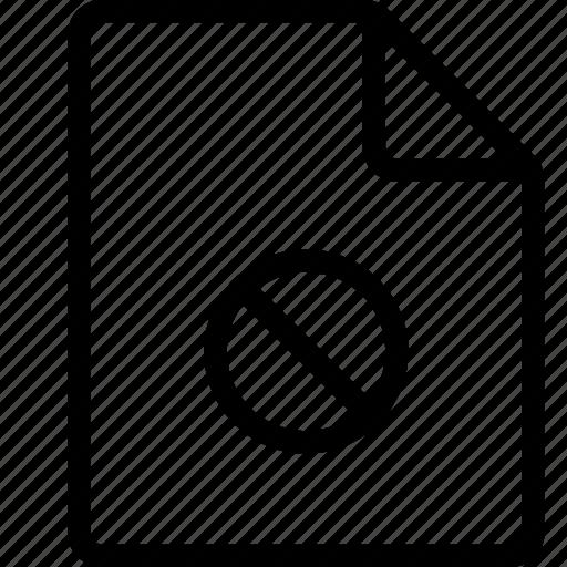 block, document, file, ui icon