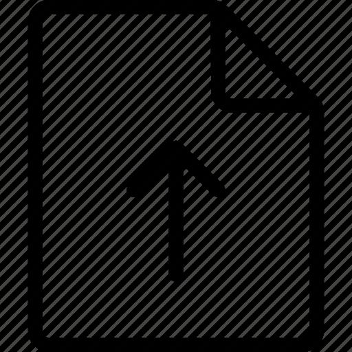 Document, file, ui, upload icon - Download on Iconfinder