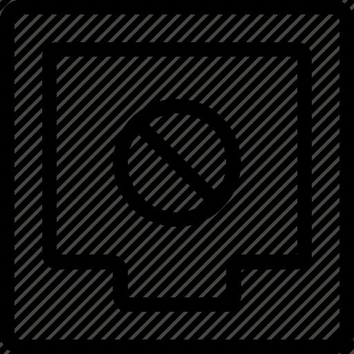 block, box, document, file icon