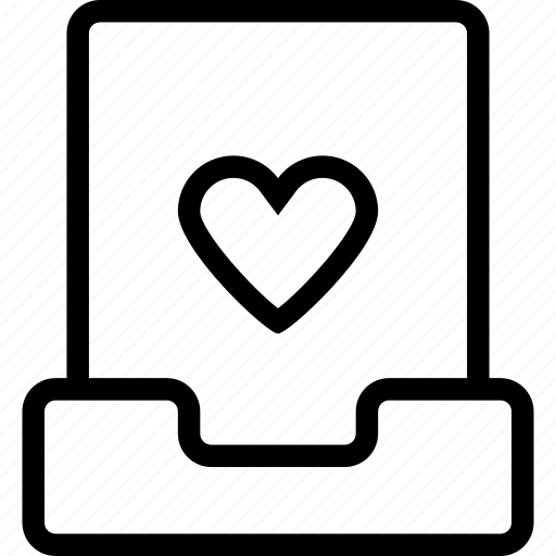 favorite, file, heart, like, project icon