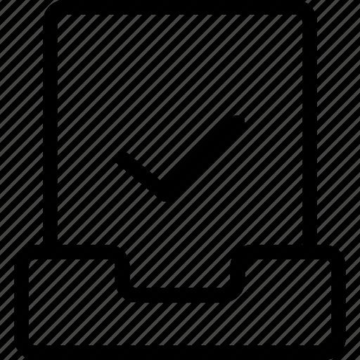 file, files, project, tick icon