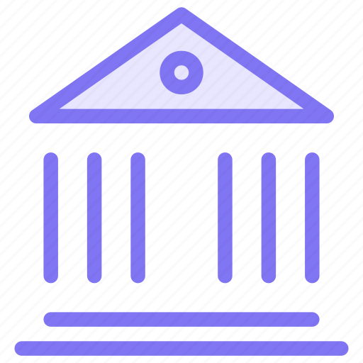 bank, banking, finance, government icon