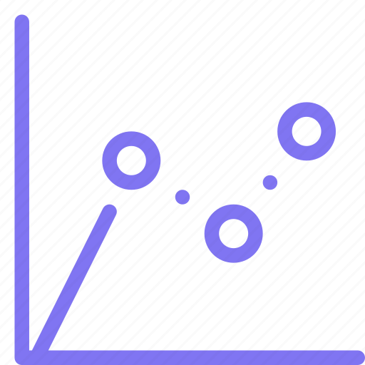 bubble, chart, finance, performance icon
