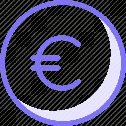 euro, finance icon