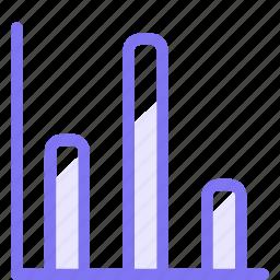a, finance, graphic, moderate icon