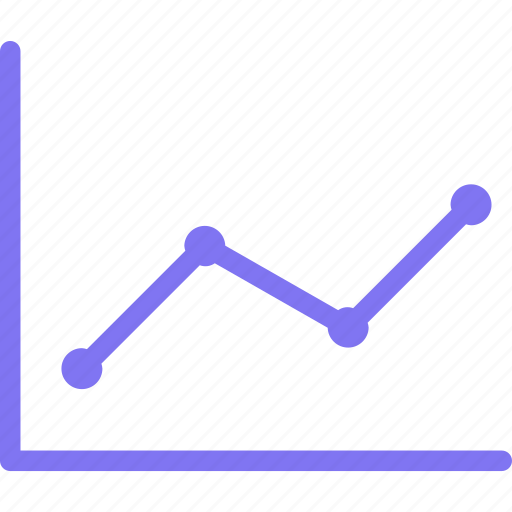 chart, finance, graph, investment, line, performance icon