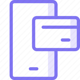 finance, mobile, payment icon